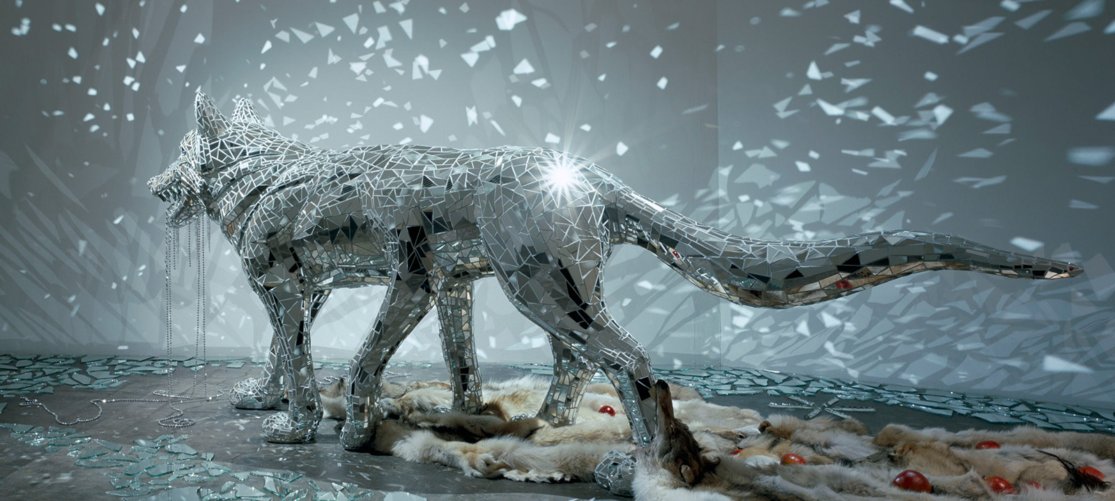 鴻池朋⼦《惑星はしばらく雪に覆われる》 (部分) 2006 ©KONOIKE Tomoko